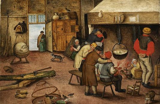 Peasants by fire.JPG