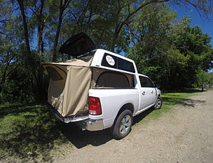 Topperezlift Turns Your Truck And Topper Into A Pop Up Camper