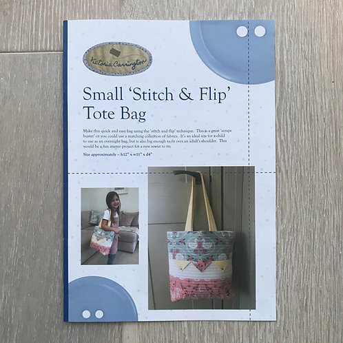 Small 'Stitch & Flip' Tote Bag Pattern
