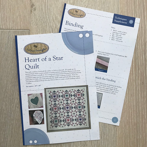 Heart of a Star Quilt Pattern