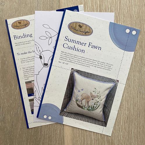 Summer Fawn Cushion Pattern
