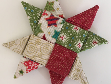 Folded Christmas Star