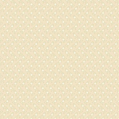 Edyta Sitar - Sonoma - Tulips Cream (8757L) 0.5m