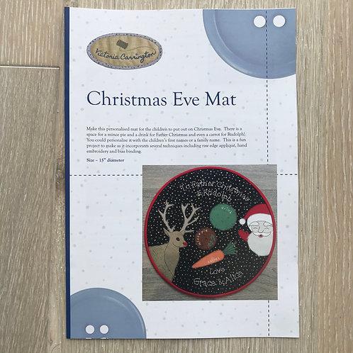 Christmas Eve Mat Pattern