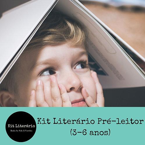 Kit Literário Pré-leitor (3-6 anos)