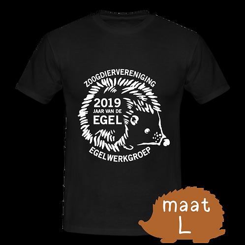 T-shirt Jaar van de Egel 2019 (maat L)