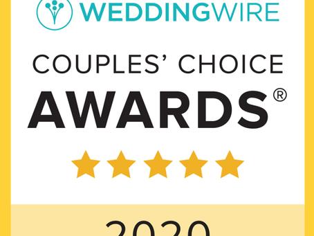 2020 Couple's Choice Award