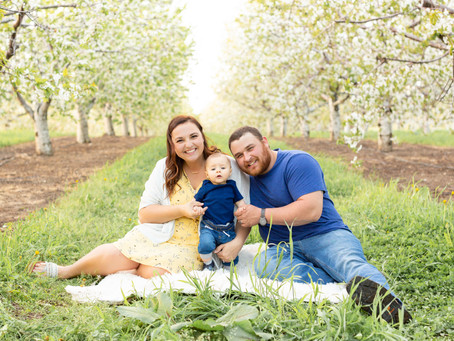 Family Blossoms Session