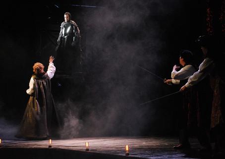 Первая встреча Гамлета с Призраком (Акт 1, Сцена 4)