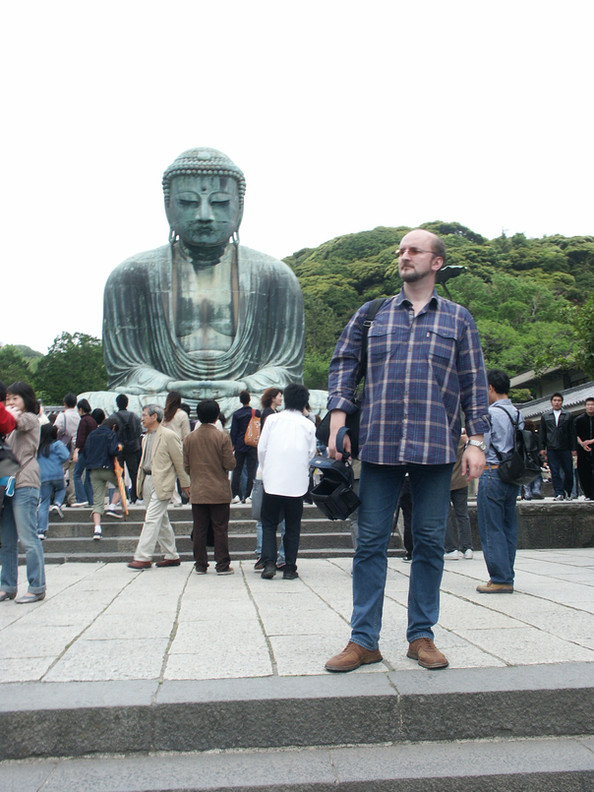 Репетитор по английскому и Будда, Камакура.