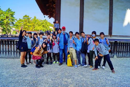 Репетитор по английскому и японская детвора в Наре.
