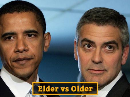Elder или Older – Сравнительный английский