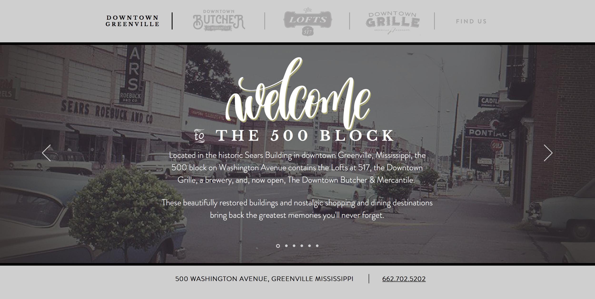 500 Block Downtowngreenvillems