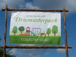 Feest in het Driemasterpark