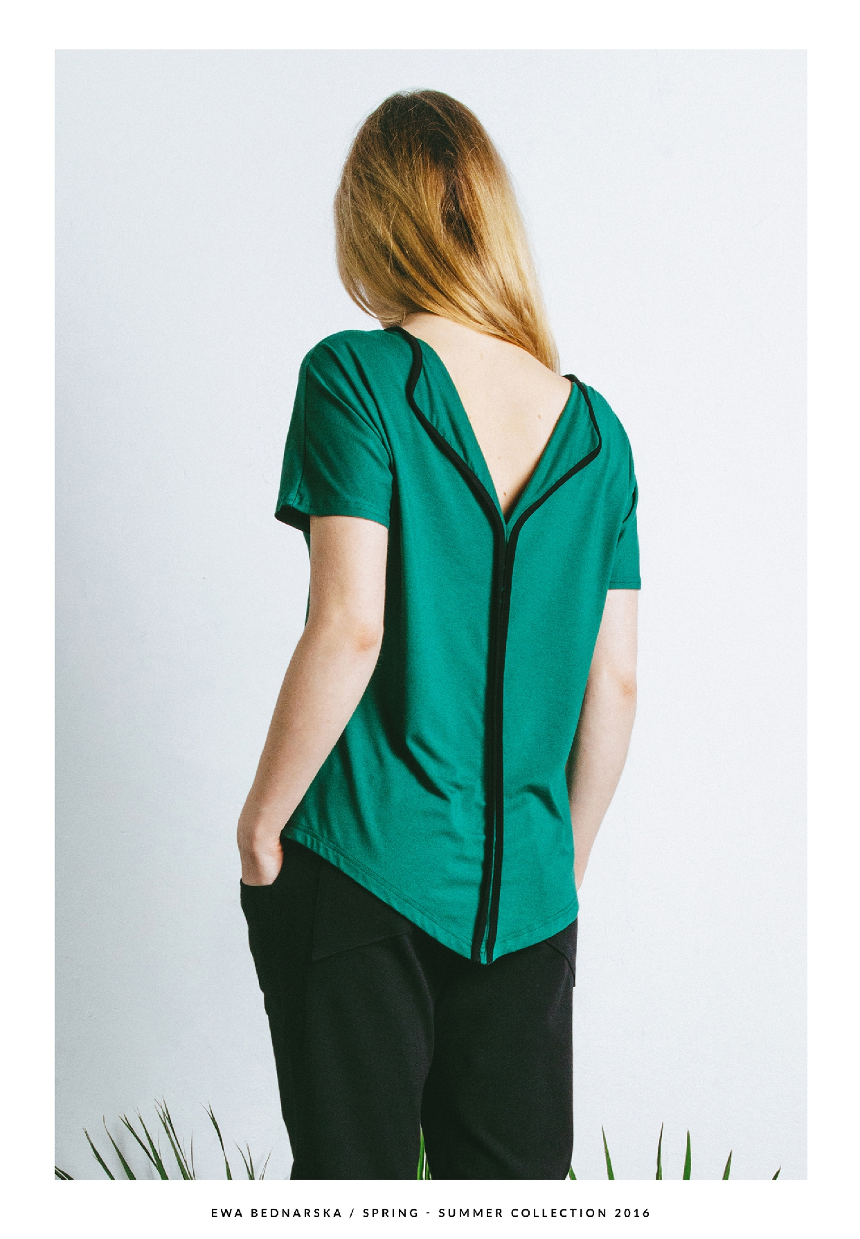 bluzka zielona