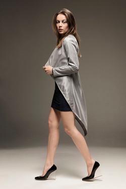 Srebrny płaszcz