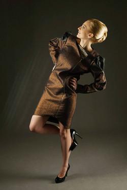 Miedziany płaszcz