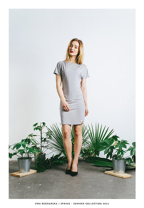 Sukienka Y szara / Gray dress