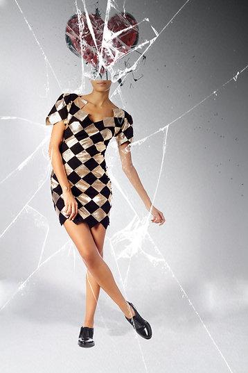 Lexi Harlequin Dress