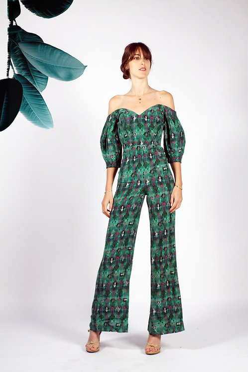 Edie Balloon Sleeve Jumpsuit