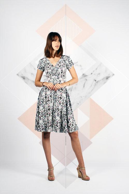 Hedi Horizontal Pintuck Dress
