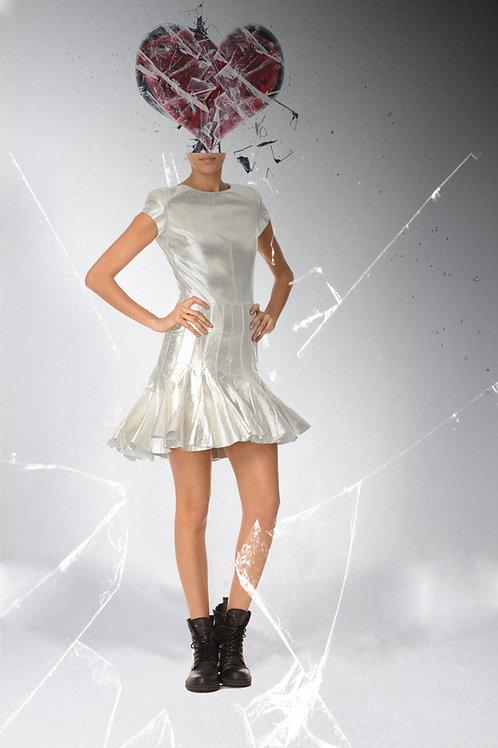Dee Metallic Dress