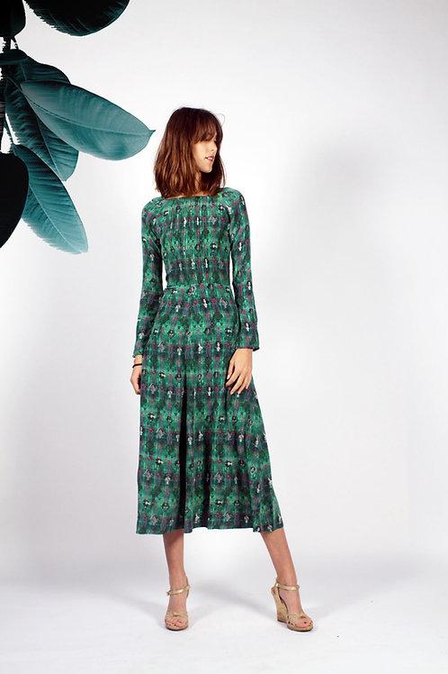 Etta Classic Pintuck Dress