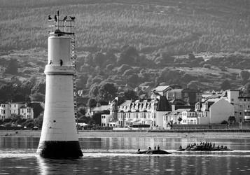 'Dunoon Beacon' by Sue McBean ( 9 marks )