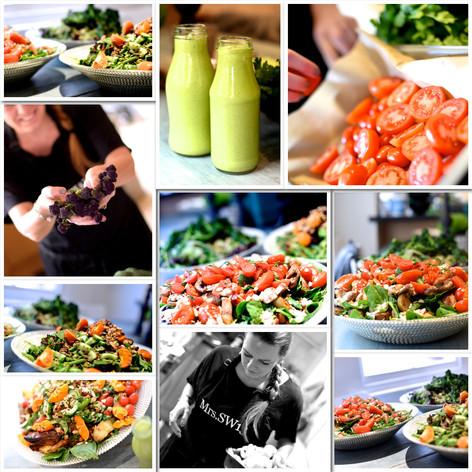 Reiki vegan catering