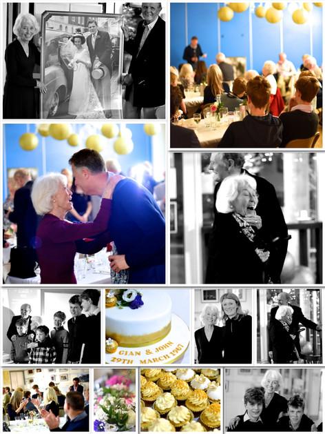 Surprise 50th wedding anniversary