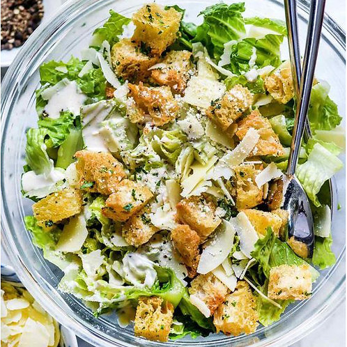MIXED-LEAF CAESAR SALAD - FOR 4 PEOPLE