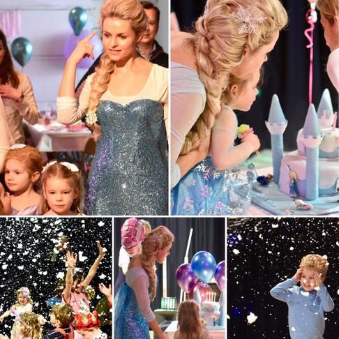 FRozen / Elsa 5th Birthday party