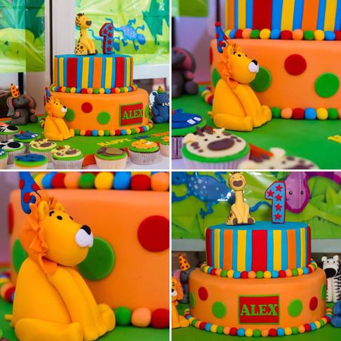 1st Birthday - Animal Theme