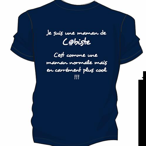 T-shirt Maman Supporter COB79