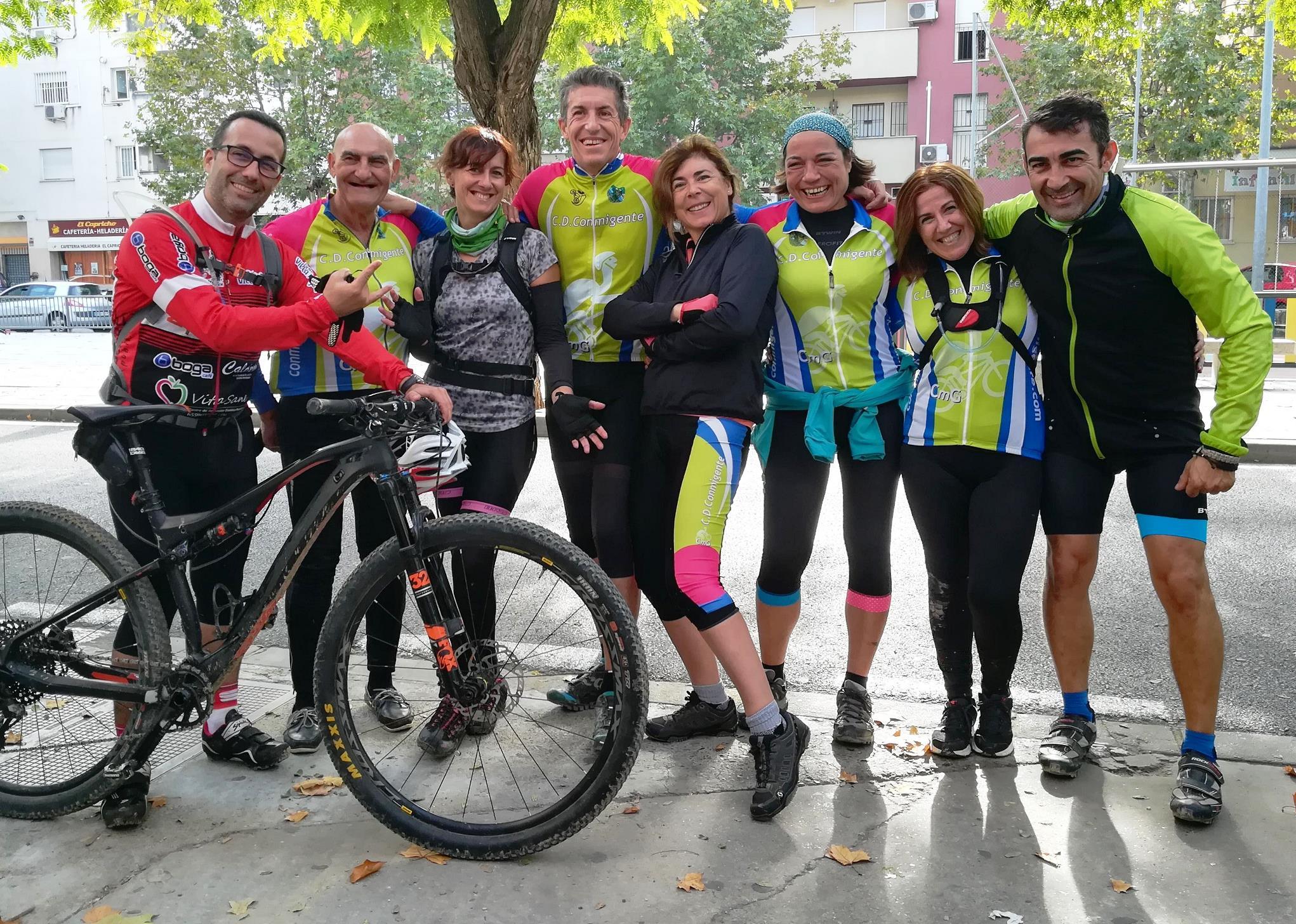 BTT Olivares - Palomares - Sevilla