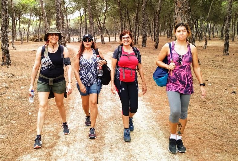 Senderismo en Punta Umbría
