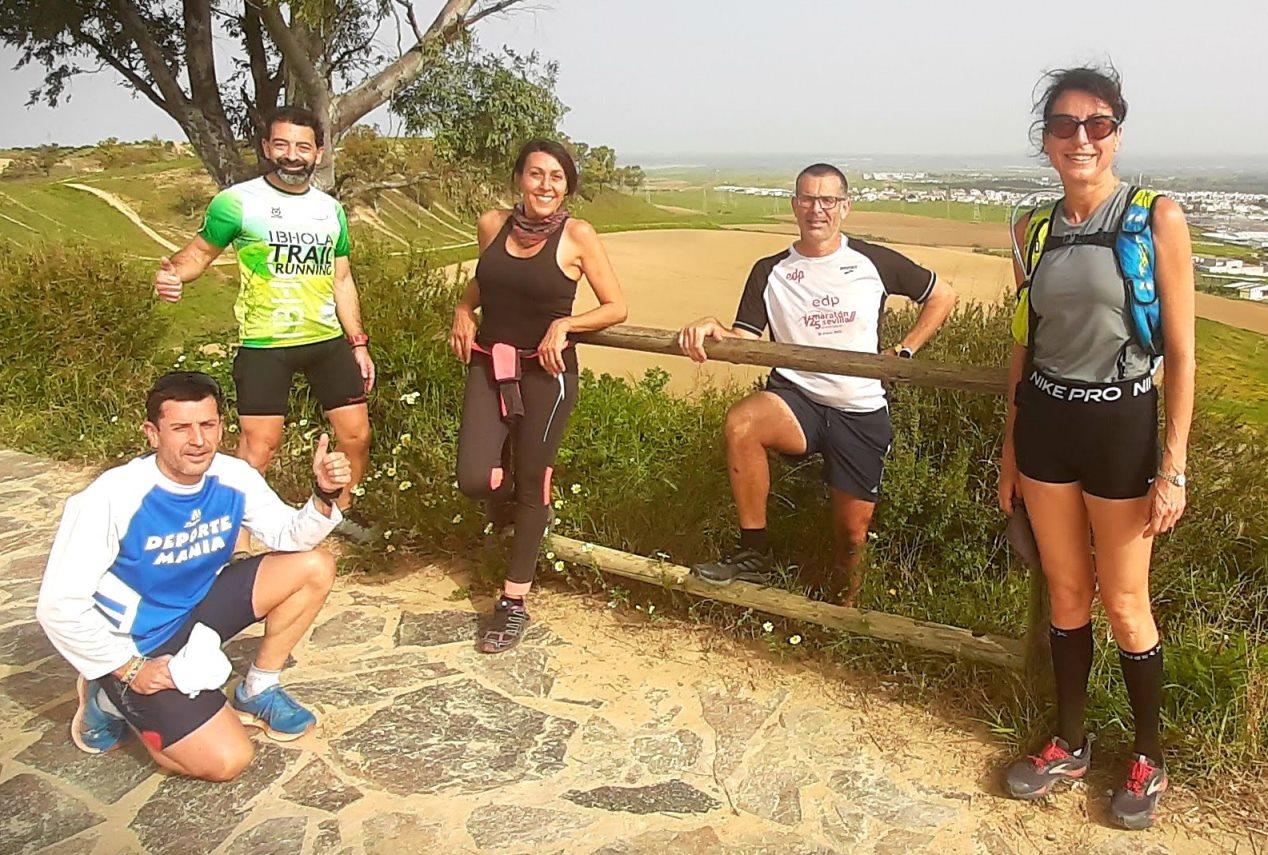 Carrera X Montaña en el ALJARAFE