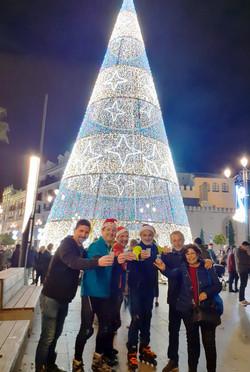 Cava y Patines por Sevilla