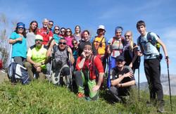 Subida al Cerro Azulejo