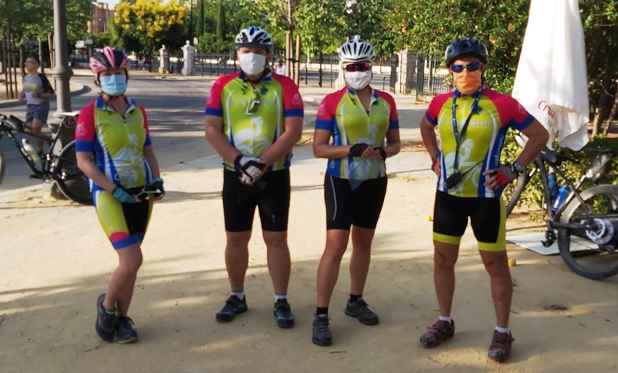 Brupo A BTT Alcalá - Dos Hermanas