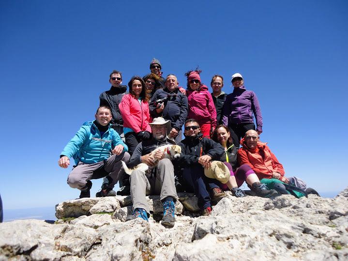Subida al Pico Mágina