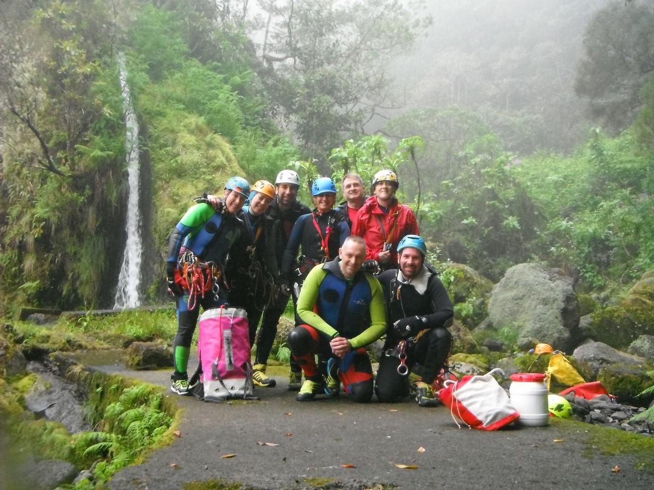 Encuentro canyoning MADEIRA