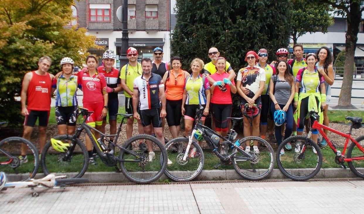 BTT Tuñón - Caldas - Oviedo