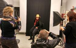 Sesión del Taller de Fotografìa