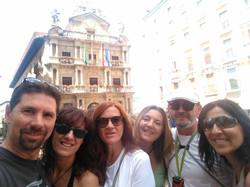 Visita a Pamplona