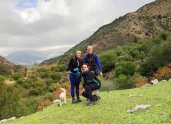 Sendersimo en Zahara de la Sierra