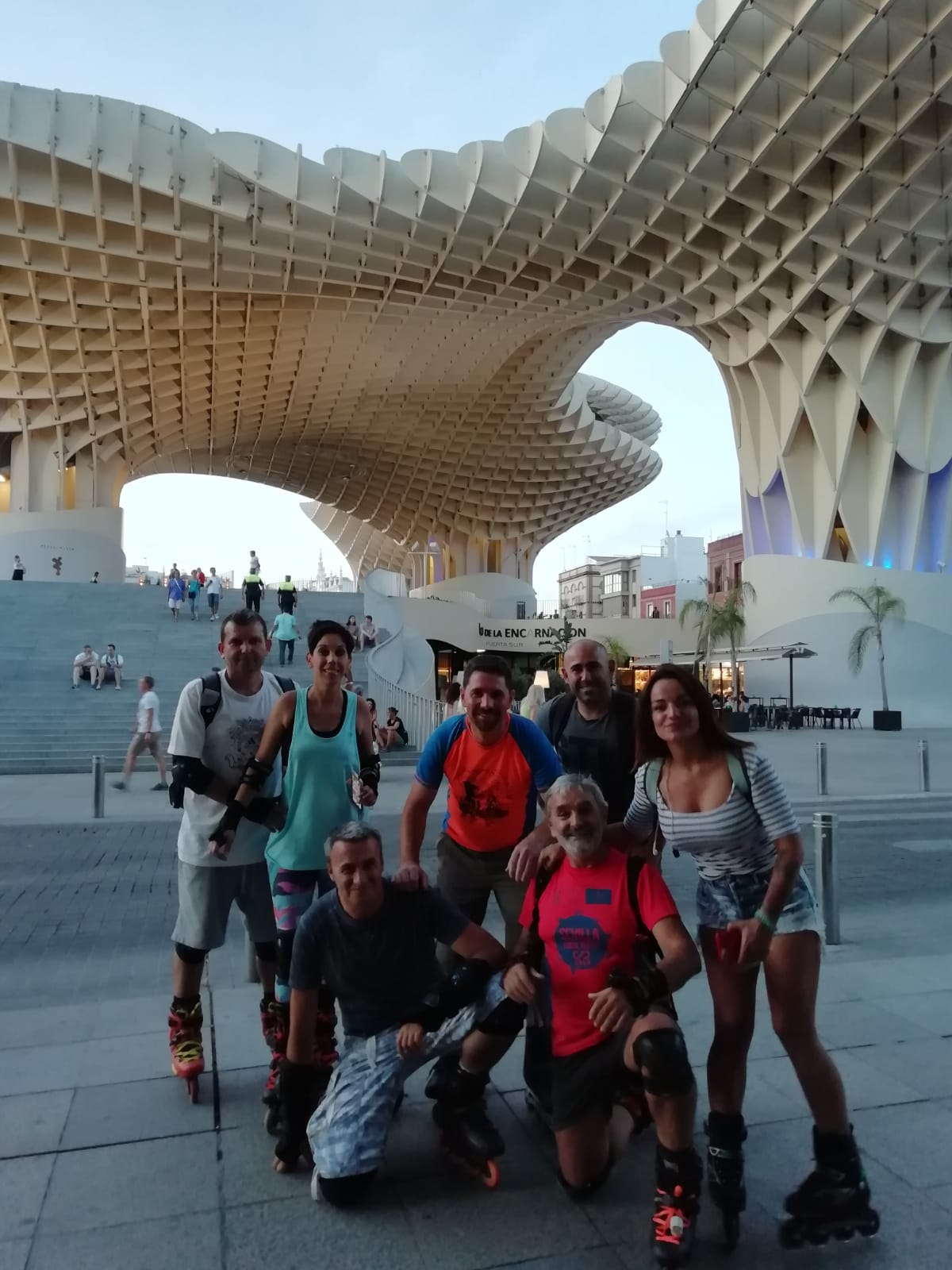 Patines por Sevilla