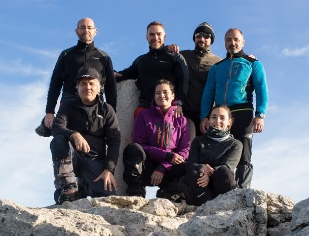 Grupo 2 Travesía Sierra Mágina
