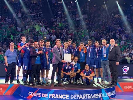 Défaite d'un but en finale de la Coupe de France départementale
