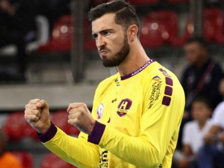 Cyril Dumoulin devient le parrain de l'AS Meudon Handball